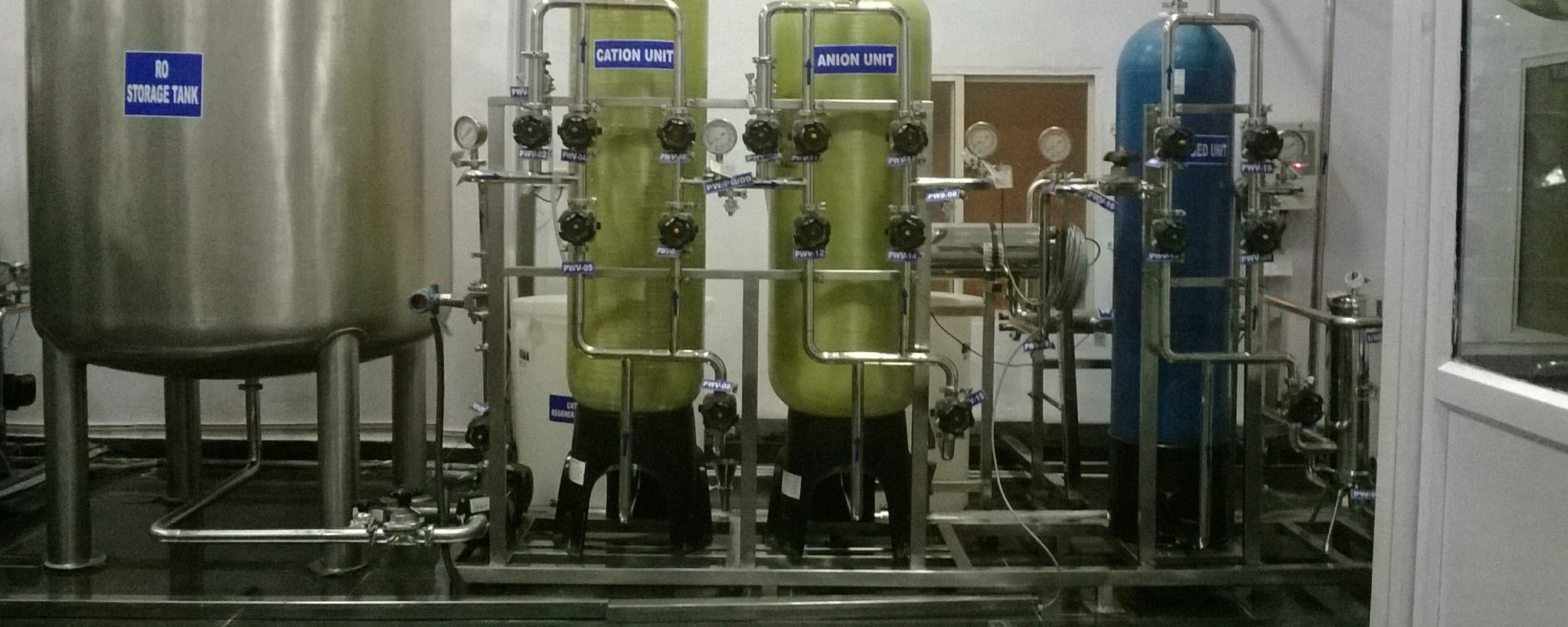 água desmineralizada