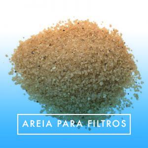 Areia para filtros