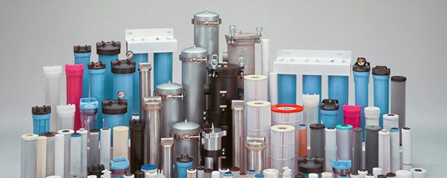 filtros para tratamento de água
